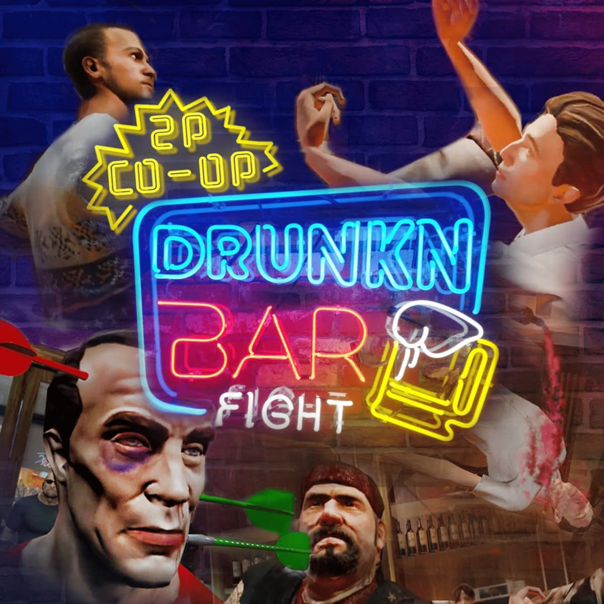 drunkn bar fight vr review
