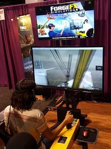 ForgeFX VR Plane De Ice Simulator